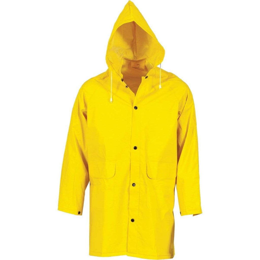 DNC Workwear Work Wear Yellow / S DNC WORKWEAR PVC Rain Jacket 3702
