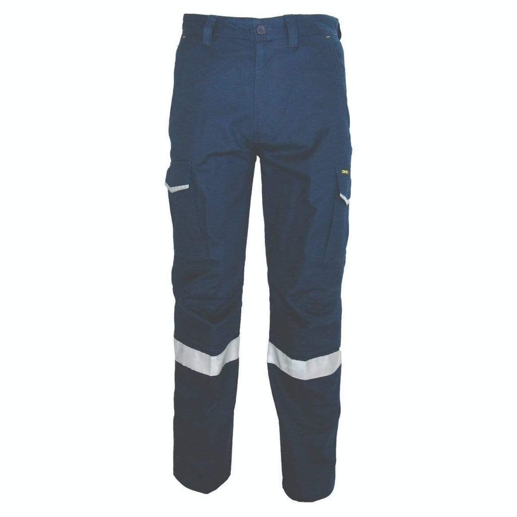 DNC Workwear Work Wear DNC WORKWEAR Ripstop Cargo Pants with CSR Reflective Tapes 3386
