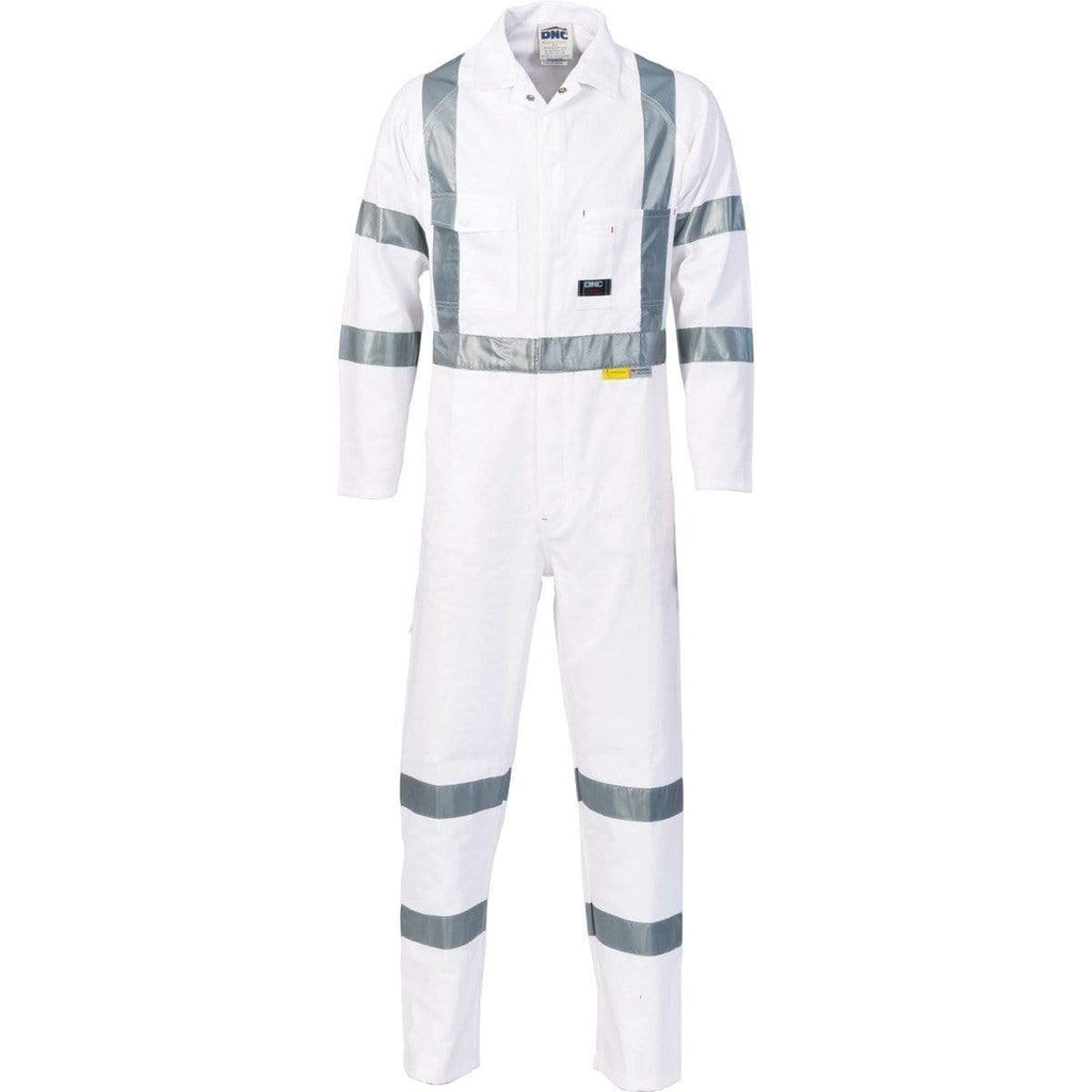 DNC Workwear Work Wear DNC WORKWEAR RTA Night Worker Coverall with 3M 8910 R/Tape 3856