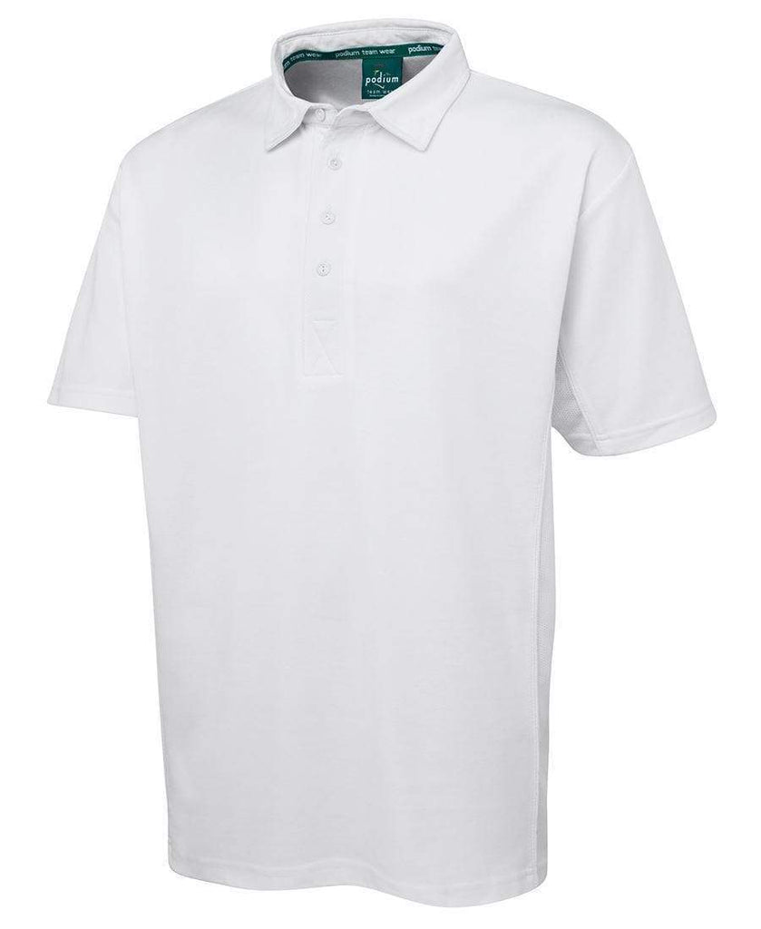 Jb's Wear Active Wear White / 12 JB'S Cool Cricket Polo 7PCPS