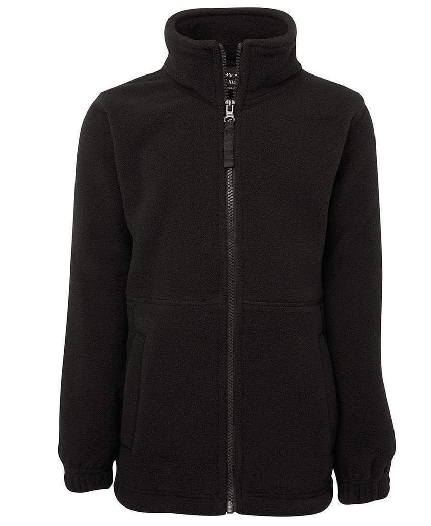 Jb's Wear Active Wear Black / S JB'S Kids and Adults Full Zip Polar Jacket 3FJ