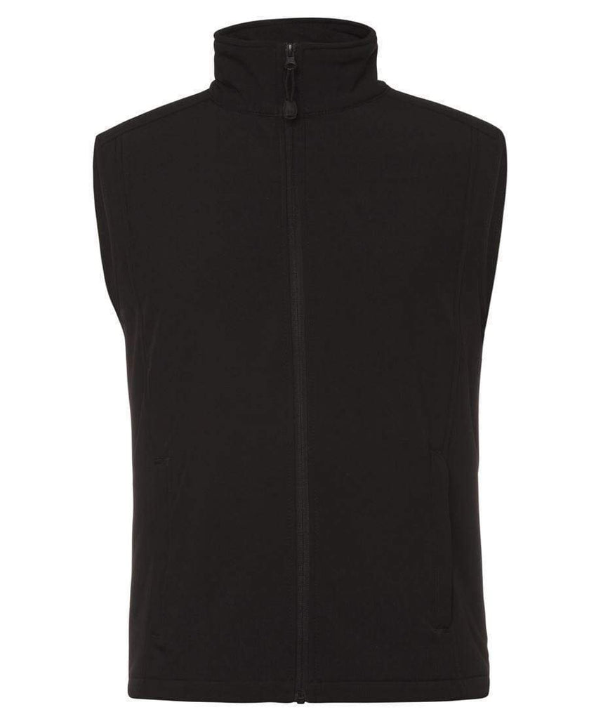 Jb's Wear Active Wear Black / S JB'S Kids and Adults Layer Softshell Vest 3JLV