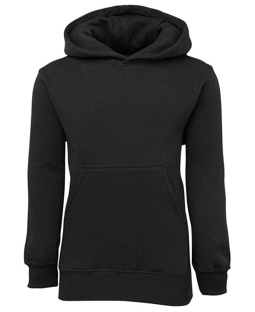 Jb's Wear Active Wear Black / 4 JB'S Kids' Fleecy Hoodie 3KFH