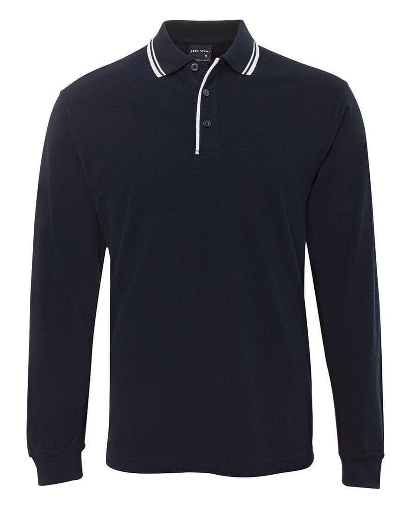 Jb's Wear Casual Wear JB'S L/S Contrast Polo 210XC