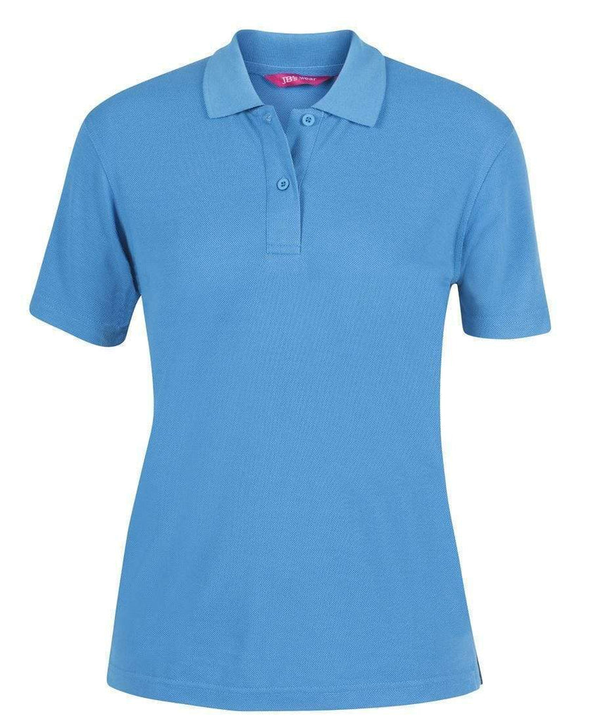 Jb's Wear Casual Wear Aqua / 8 JB'S Ladies 210 Polo 2LPS