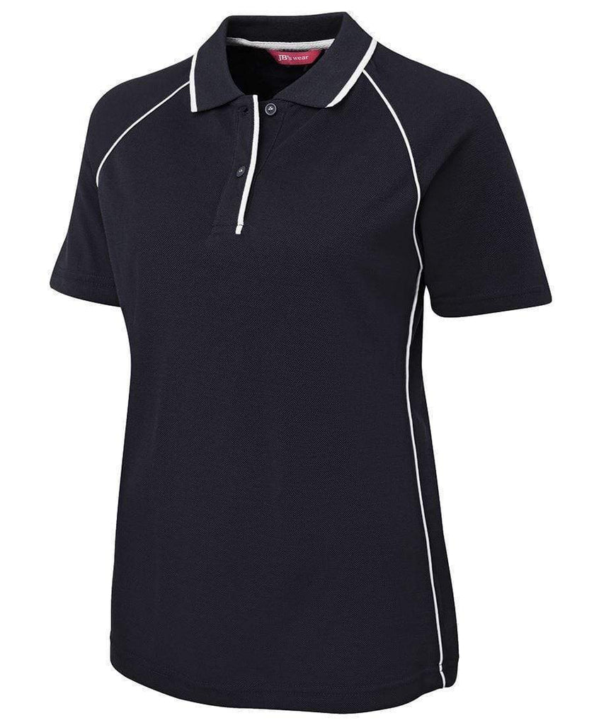 Jb's Wear Casual Wear Navy/White / 8 JB'S Women's Raglan Polo