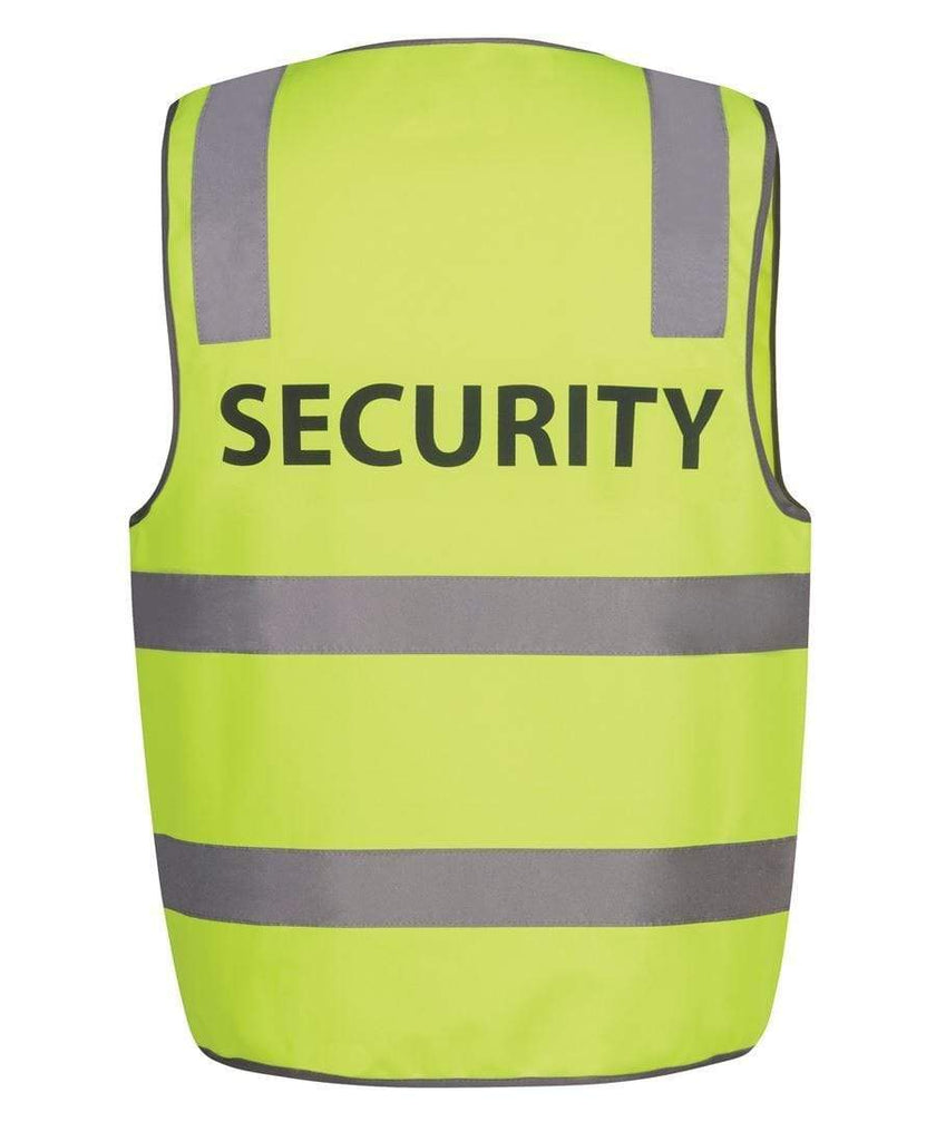 Jb's Wear Work Wear JB's Hi-Vi Safety Vest Security 6DNS5
