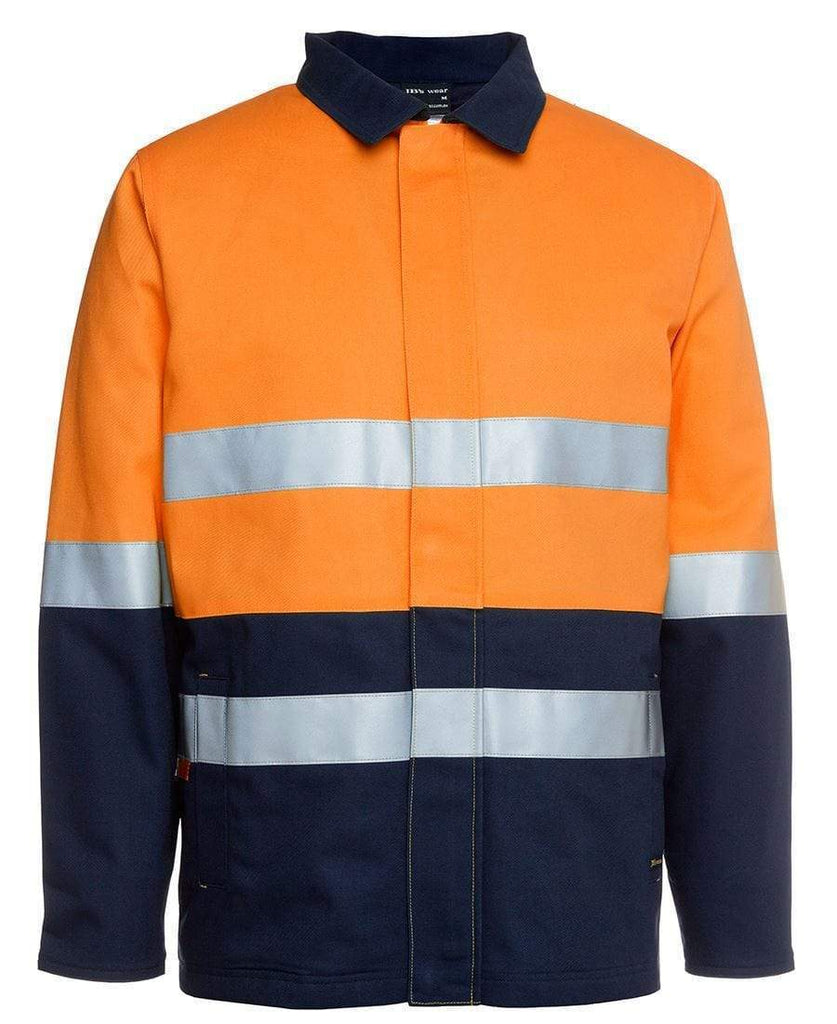 Jb's Wear Work Wear Orange/Navy / S JB'S Hi-Vis Cotton Jacket 6HD4J