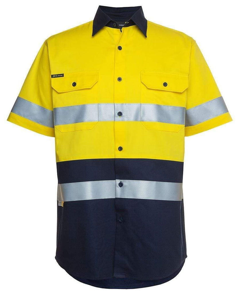 Jb's Wear Work Wear JB'S Hi-Vis Short Sleeve Shirt 6HSS