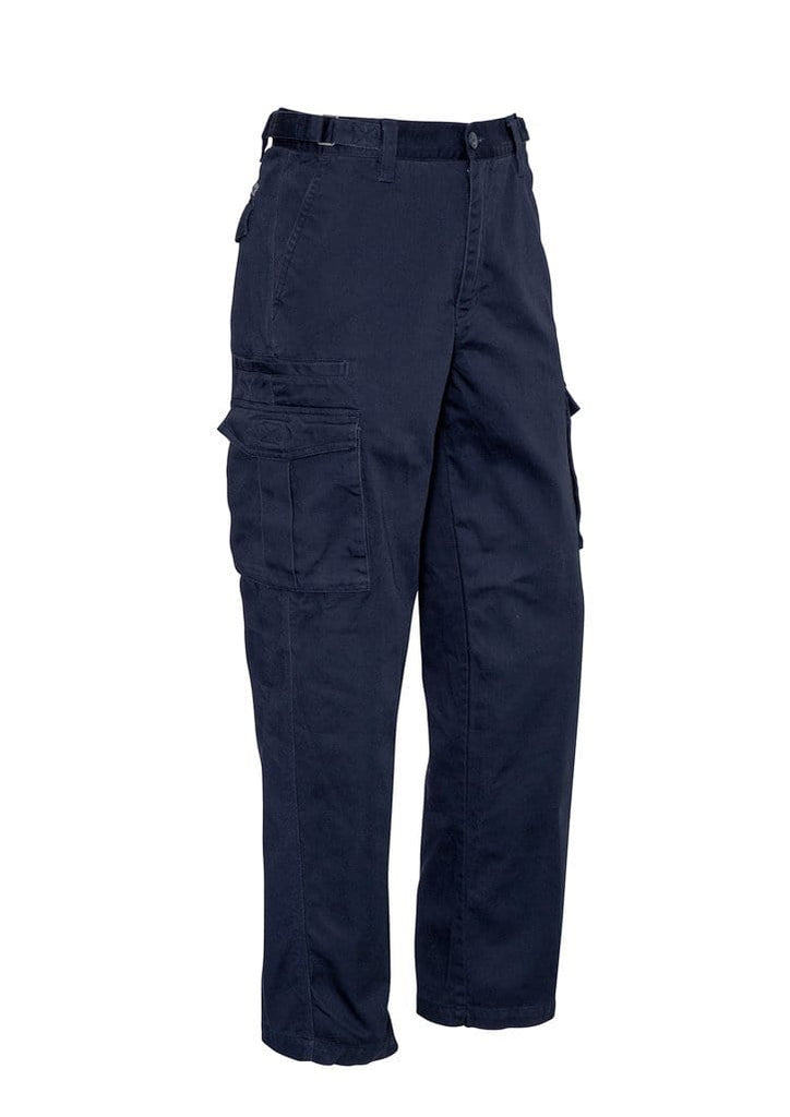 Syzmik Work Wear Navy / 87S SYZMIK Men's Basic Cargo Pants (Stout) ZP501S