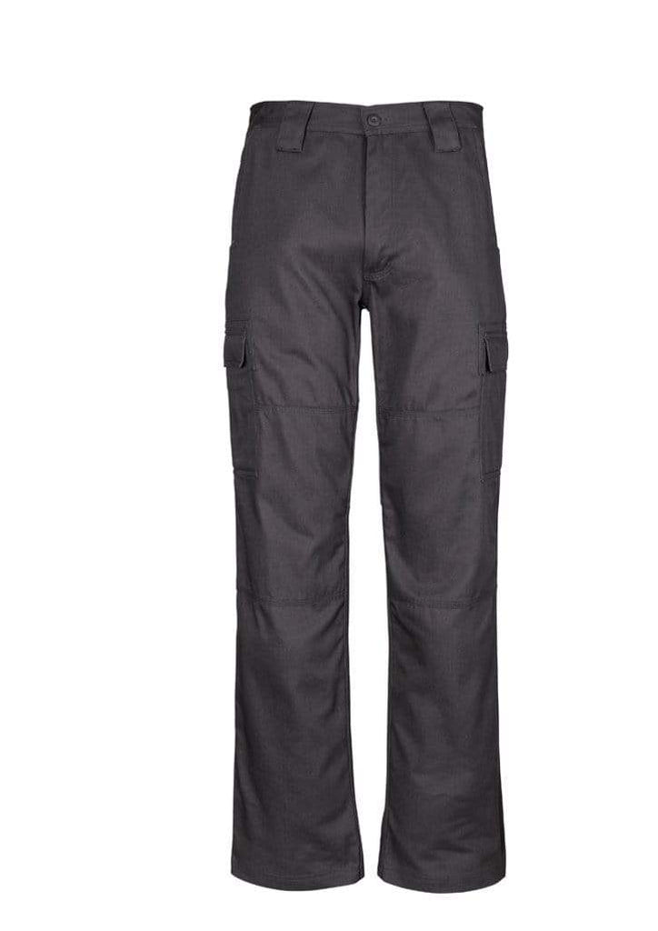 Syzmik Work Wear Charcoal / 112S SYZMIK Men's Midweight Drill Cargo Pants (Regular) ZW001