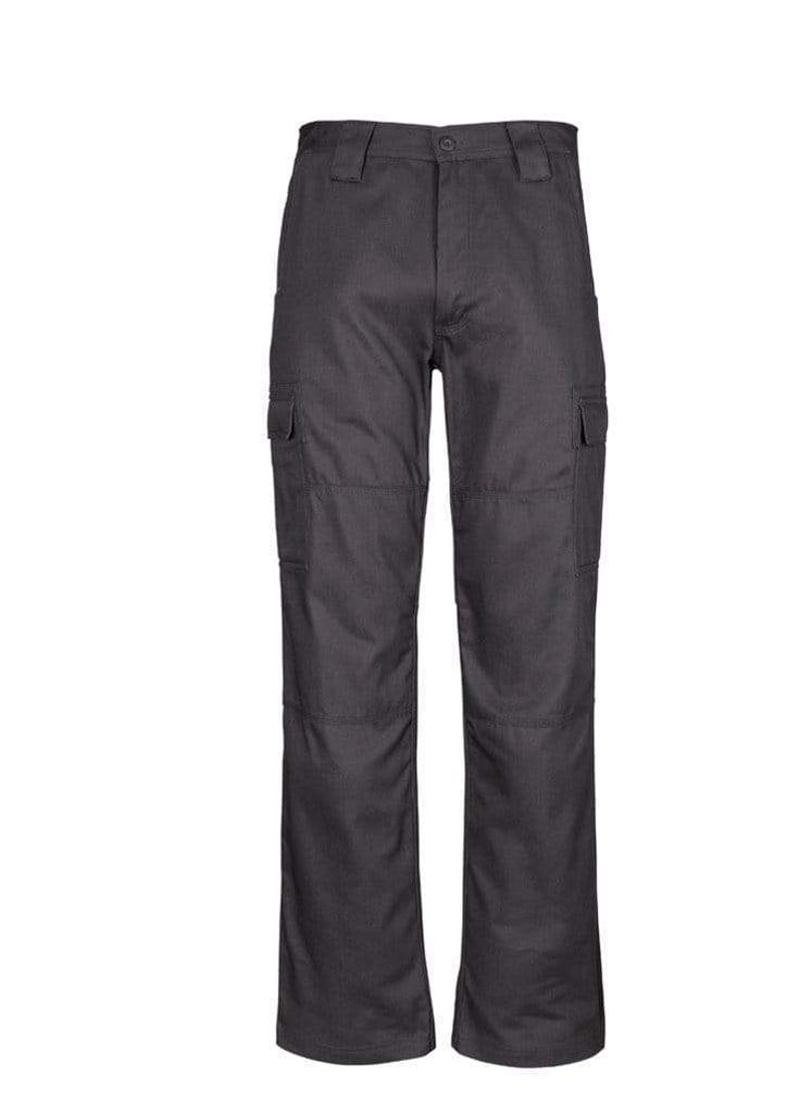 Syzmik Work Wear Charcoal / 87S SYZMIK Men's Midweight Drill Cargo Pants (Stout) ZW001S