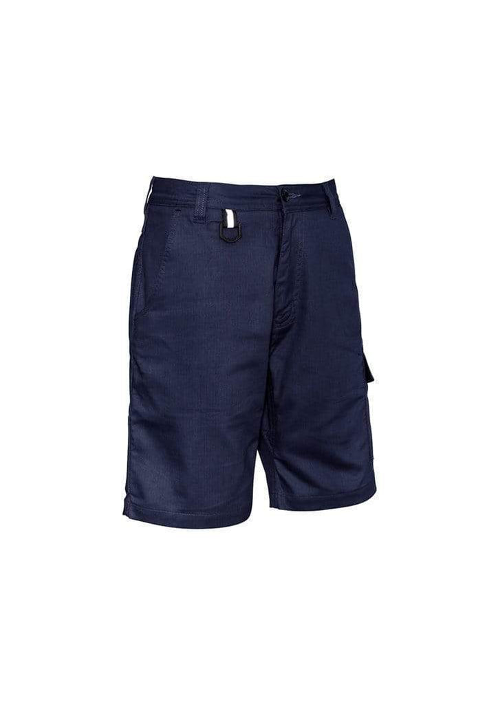 Syzmik Work Wear Navy / 72 SYZMIK Men's Rugged Cooling Vented Shorts ZS505