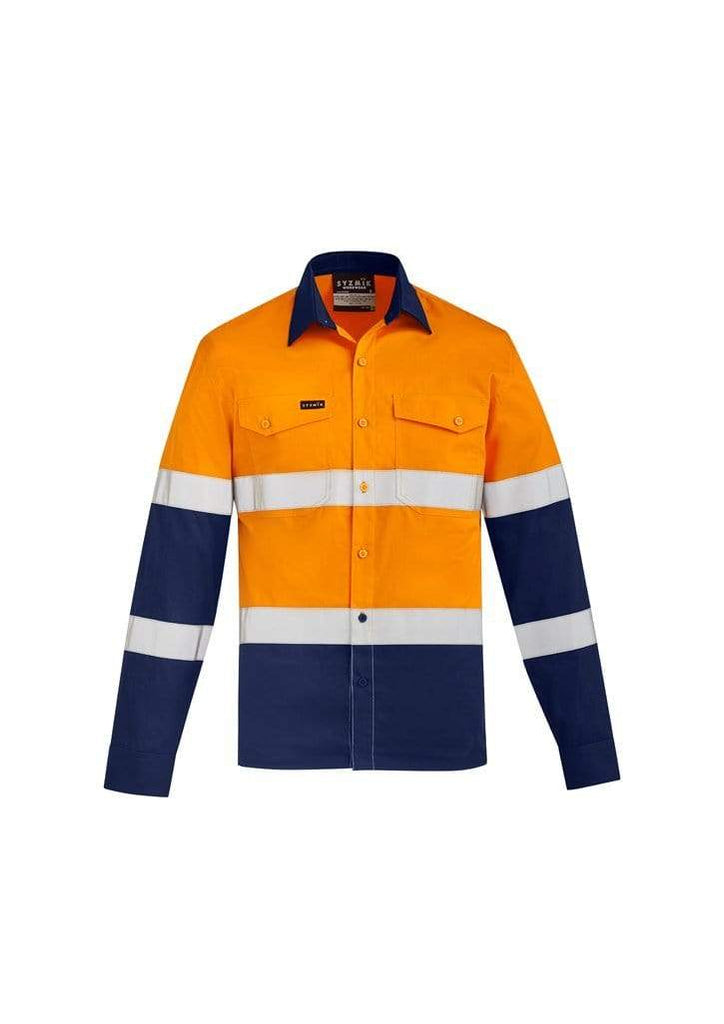 Syzmik Work Wear SYZMIK Mens lightweight bio motion shirt ZW520