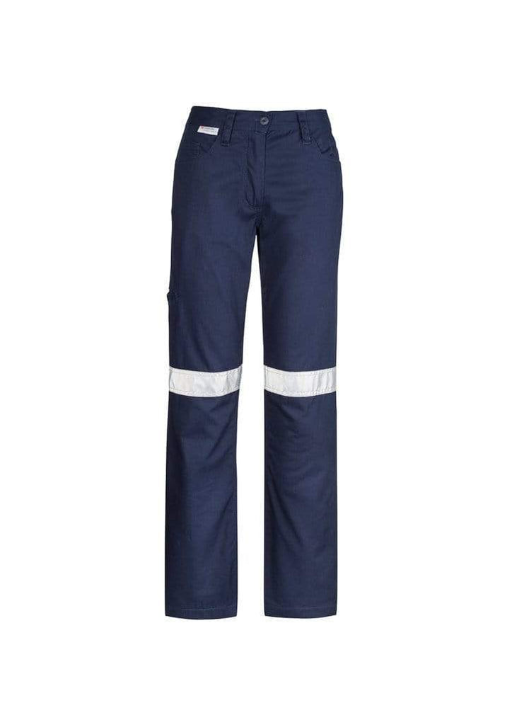 Syzmik Work Wear Navy / 8 SYZMIK Women's Taped Utility Pants ZWL004