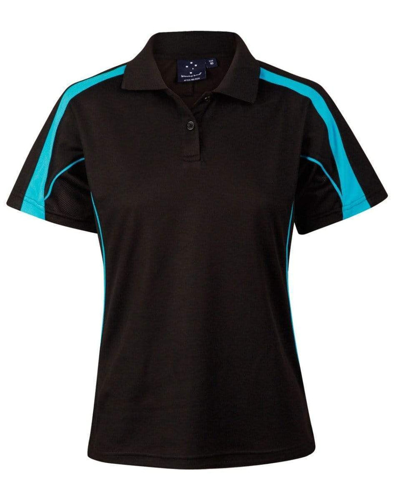 Winning Spirit Casual Wear Black/Aqua Blue / 8 WINNING SPIRIT Legend Ladies PS54