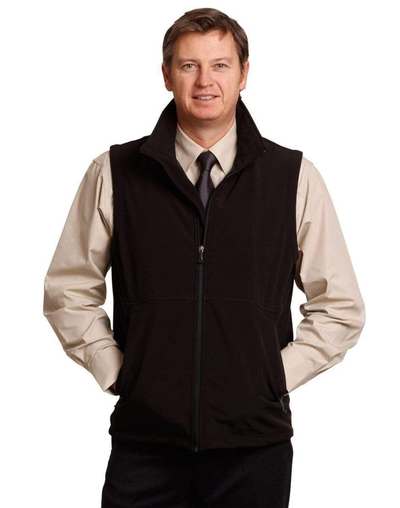 Winning Spirit Casual Wear WINNING SPIRIT Softshell Vest Men's JK25