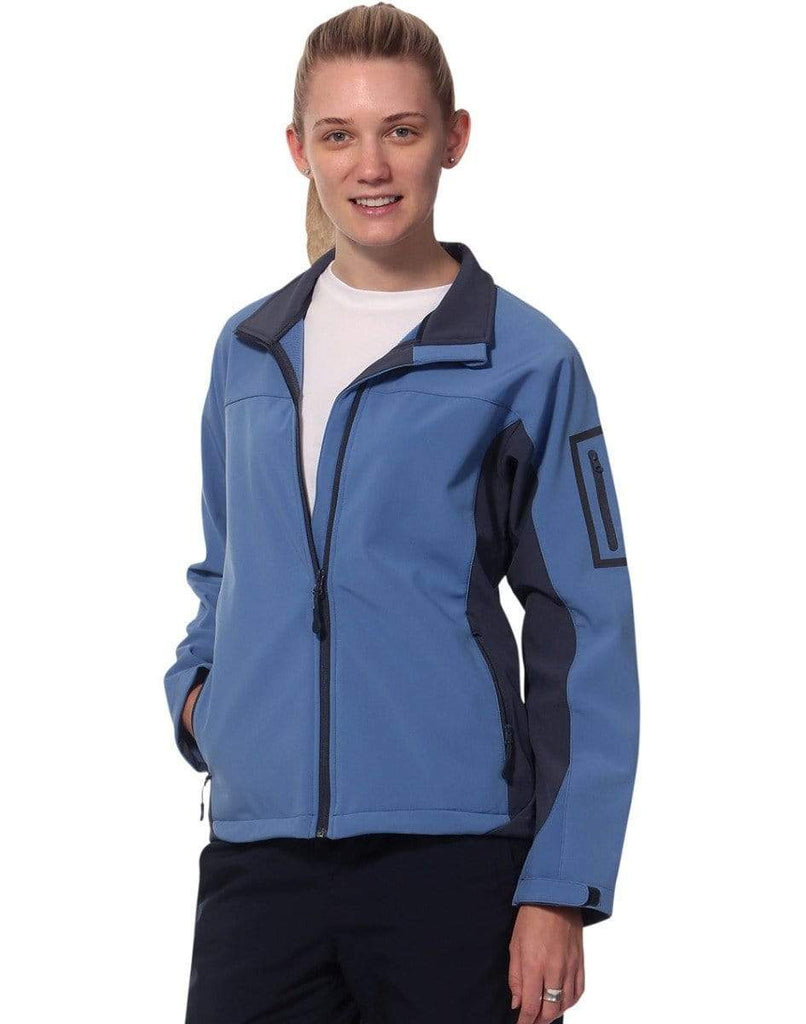 Winning Spirit Casual Wear WINNING SPIRIT WHISTLER Softshell Contrast Jacket Ladies' JK32
