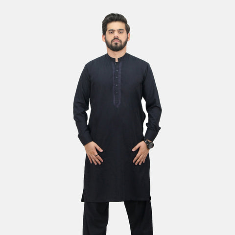 2 Piece Embroidered Men's Shalwar Kameez