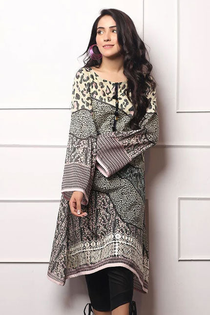 1 Piece Embroidered Lawn Kurti