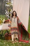 3 Piece Printed Stitched Lawn