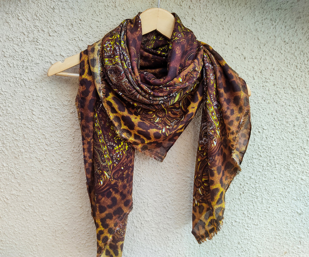LSM-0150-STOLE ( Brown )