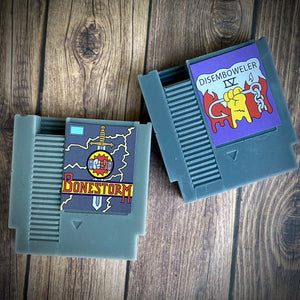 Simpsons Bonestorm and Disemboweler Game Cartridge Soaps
