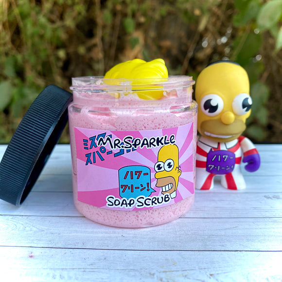 Mr Sparkle Whipped Soap Scrub