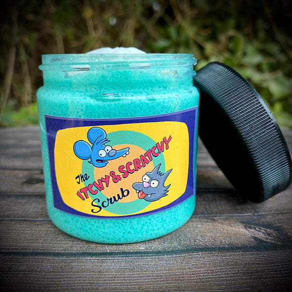 The Itchy and Scratchy Whipped Soap Scrub
