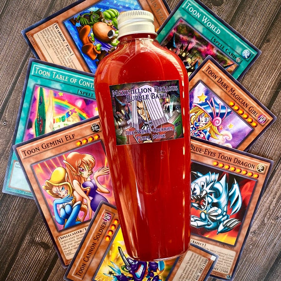 Yu-Gi-Oh! Maximillion Pegasus Bubble Bath/Body Wash