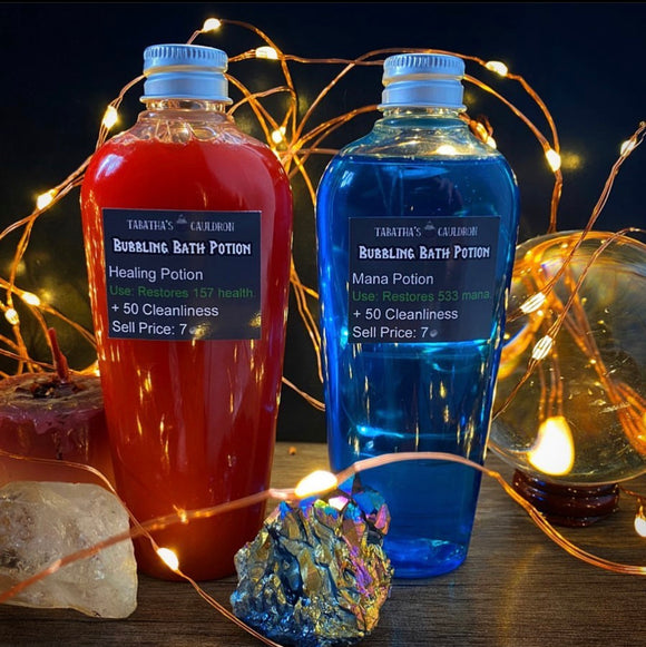 Mana and Healing Potion Bubble Bath/Body Wash