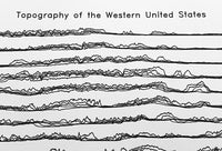 Topography of the Western United States