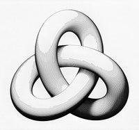 Shaded Trefoil Knot