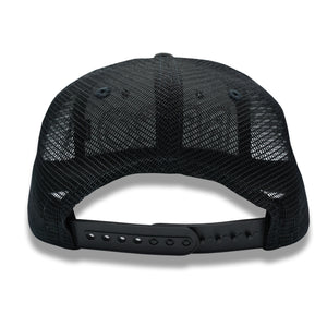 NEON BLACKOUT TRUCKER HAT