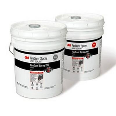 3M Fire Dam Spray 200 (Red) (5 Gallon Pail) - Express Insulation