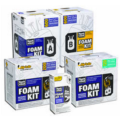 Touch-N-Seal FK-200 Kits Two Component Spray Foam Kit (Gun & Hose Included)