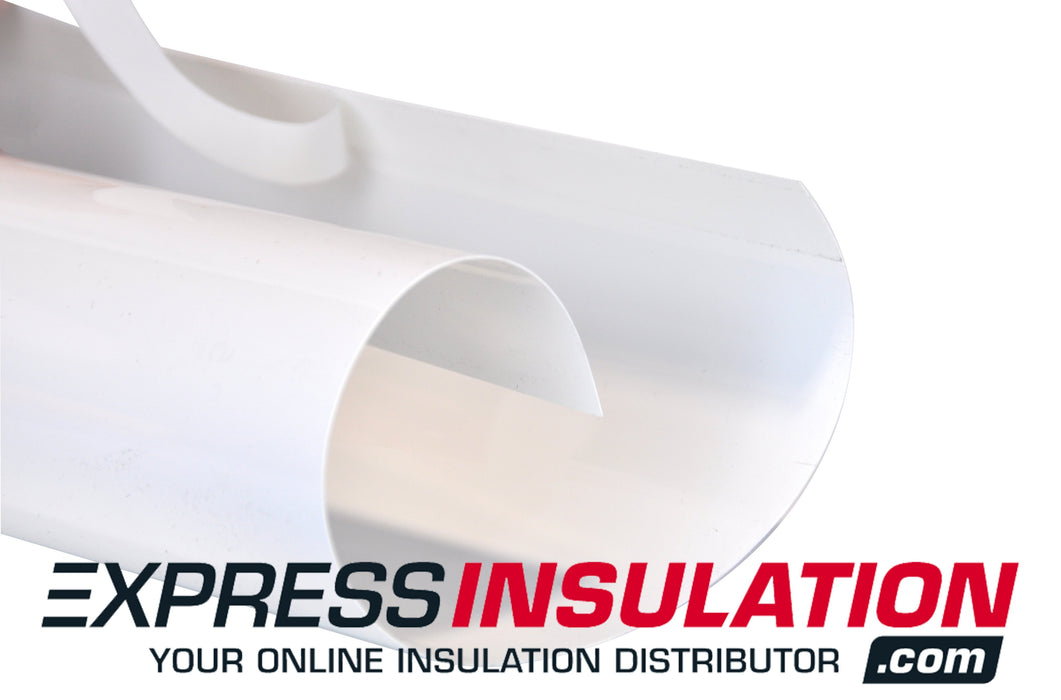PVC Precut Jacket - Indoor and outdoor pipe insulation jacket - Express Insulation
