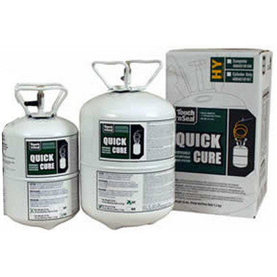 One Component 10 LB Low Yield Quick Cure Spray Foam Cylinders