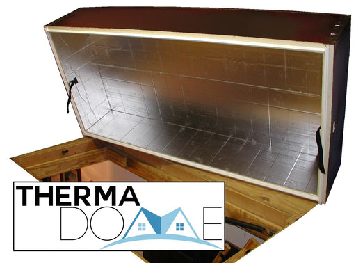 Therma-Dome Pull Down Attic Stair Cover - Express Insulation