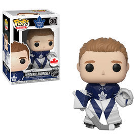 Funko POP NHL Frederik Andersen #30  Toronto Maple Leafs Canadian Exclusive