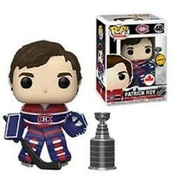 Funko Pop Patrick Roy #48 CHASE (with Stanley Cup) Montreal Canadiens