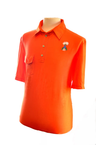 Men's Clownfish Orange with pocket