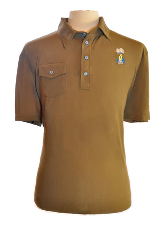 Men's Hammerhead Brown with pocket
