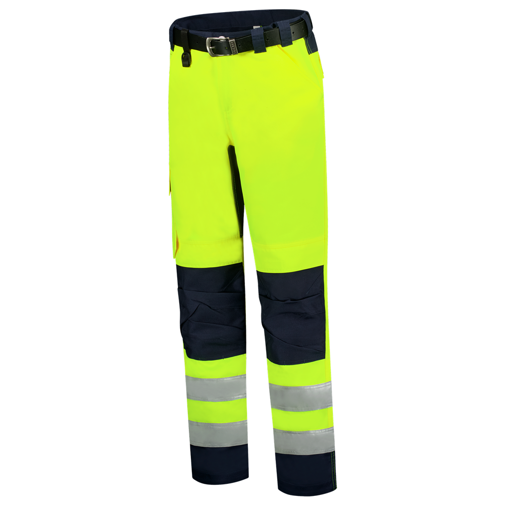 WERKBROEK HIGH VIS BICOLOR 503011 geel