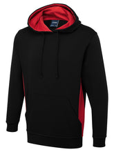 Afbeelding in Gallery-weergave laden, UC517 Two Tone Hooded Sweatshirt