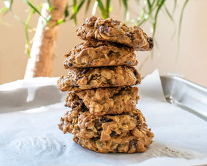 Refined Sugar-Free Trail Mix Cookies