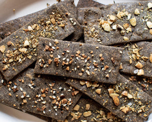 Buckwheat and Pumpkin Seed Flour Crackers