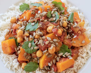 Butternut Chana Masala