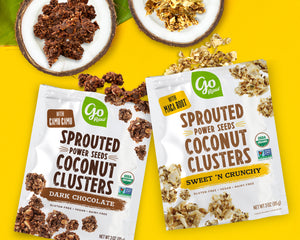 New Product Alert: Sprouted Seed Coconut Clusters!