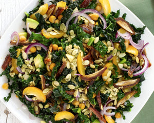 Kale Salad with Avocado & Dates